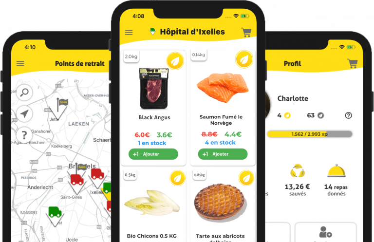 Application mobile Happy Hours Market